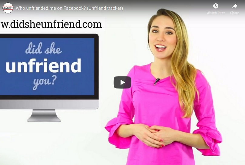 Who unfriended me on Facebook? Watch to find out